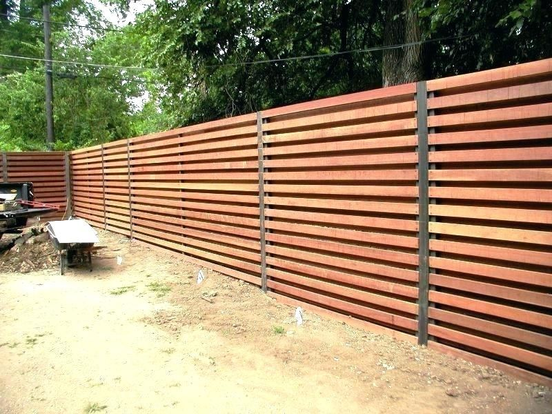modern fence panels modern wood fence image of modern wood