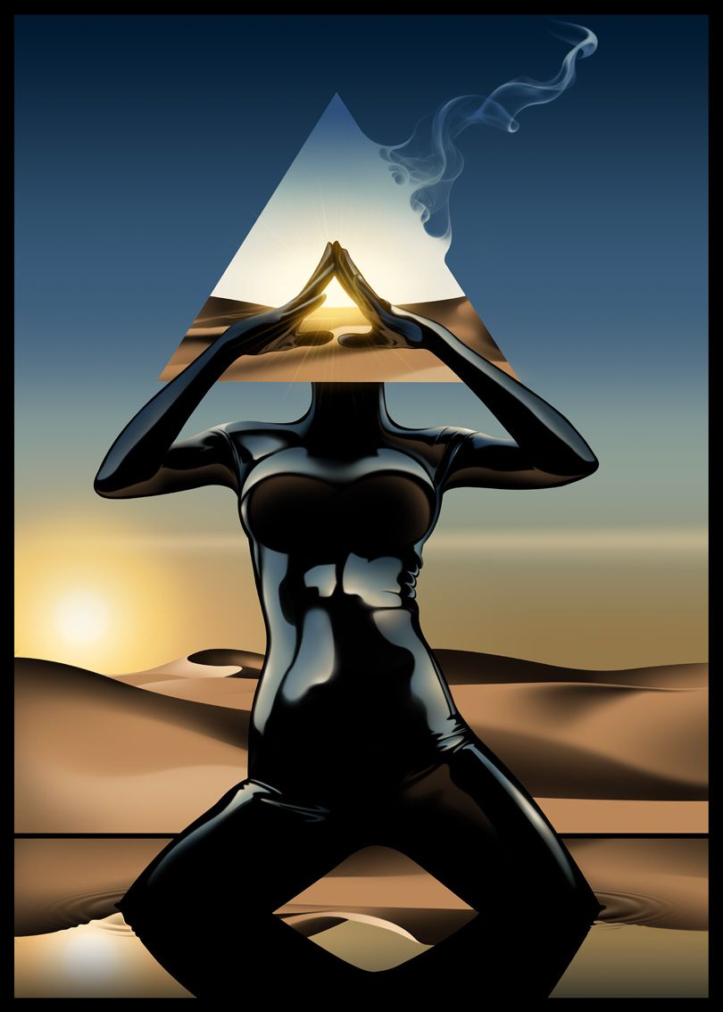 Begin to open your ancient eye of Horus, and see not through the eye's of a human but the eye's of a god which is who you truly are.