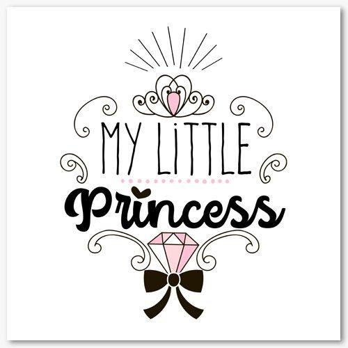 Tableau Déco Chambre Fille Ma Petite Princesse Tableaux Deco Deco Chambre Fille Chambre Fille