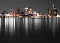 ikea wall art the detroit skyline for the home With kitchen cabinets lowes with detroit skyline wall art