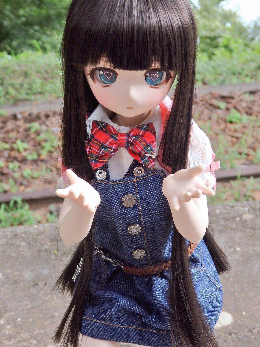 Pin by 草莓 陳 on 藝術 Anime dolls, Gothic dolls, Cute dolls
