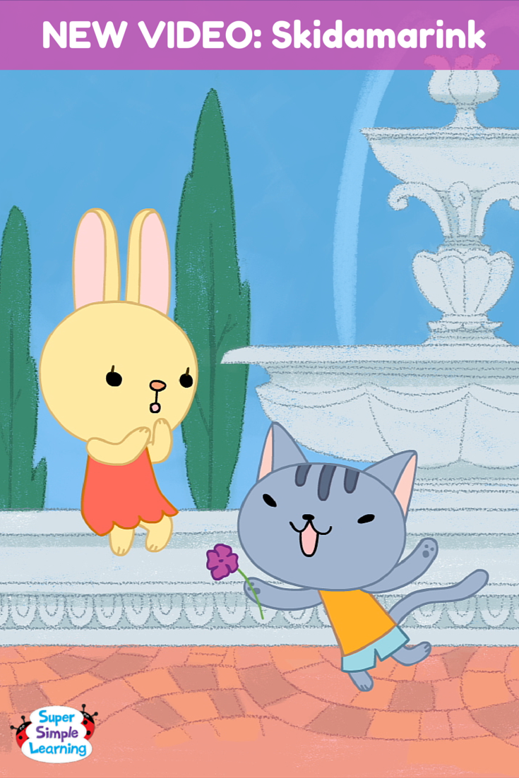 Skidamarink a doo, we love you! It's a brand new animated