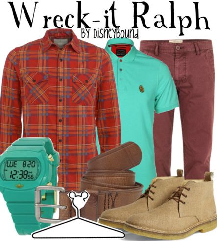 Wreck-it Ralph male | Disney Bound