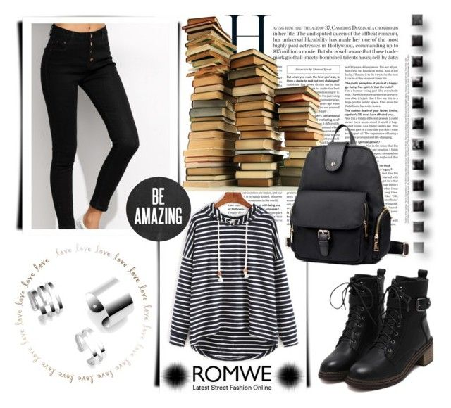 """""""ROMWE 18/9"""" by melissa995 ❤ liked on Polyvore"""