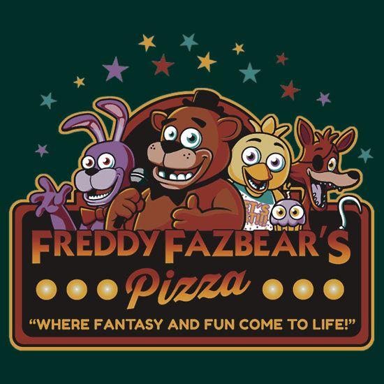 Five Nights At Freddy S Freddy Fazbear S Pizza Fnaf Logo