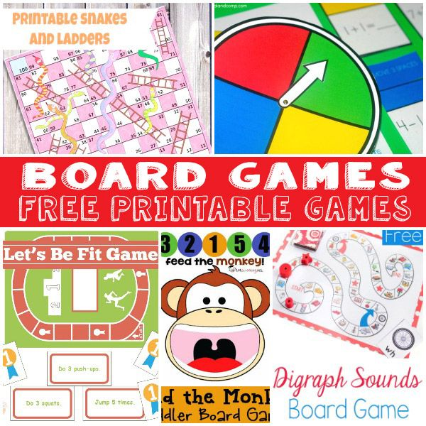 nothing is more fun than a good pack of free printable board games take a