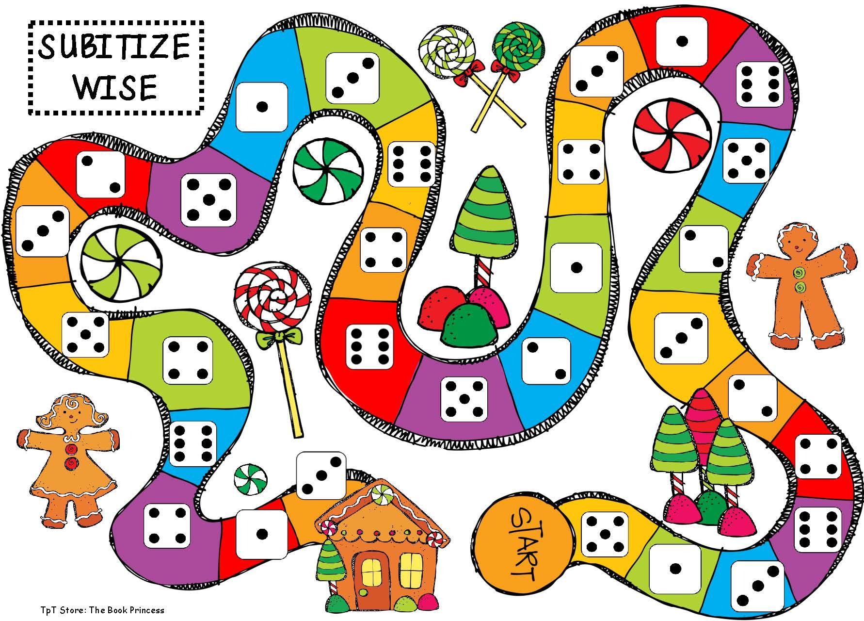 Gingerbread Themed Math Games Kindergarten games, Math