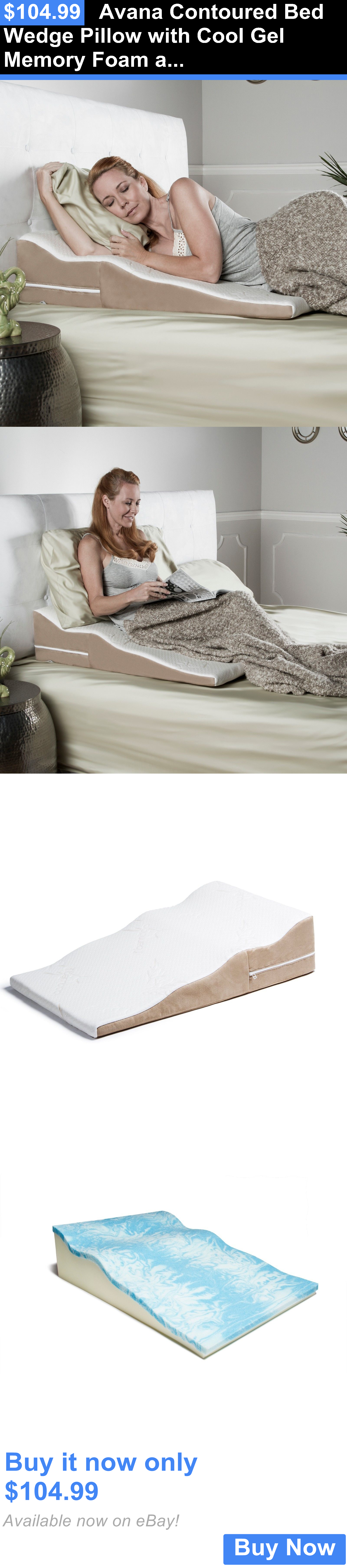 wedge pillow foam products by bed memory cheer collection