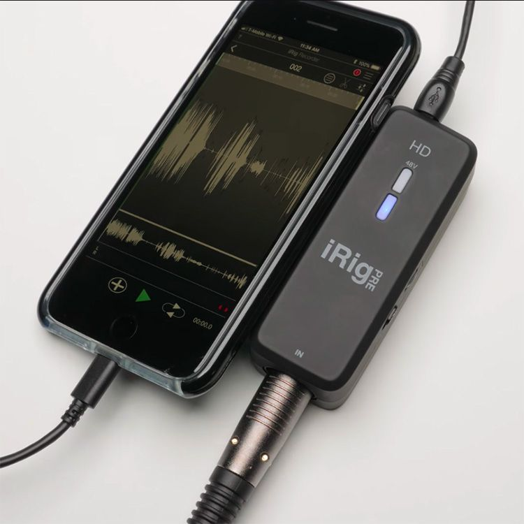 Connect Any XLR Microphone to your iPhone, Mac, or PC with
