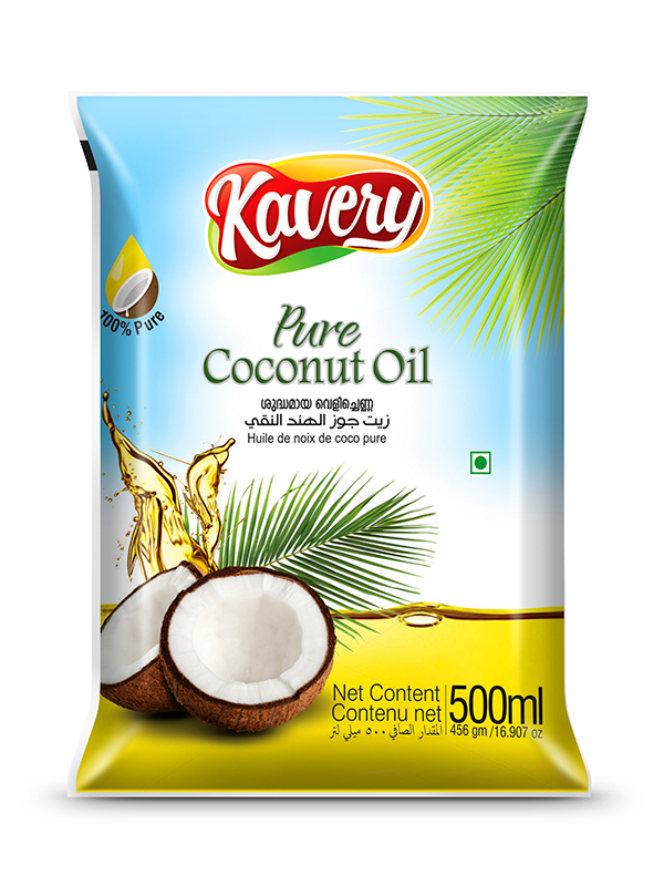 Knavery Coconut Oil Pouch Design By Brandz Spices Packaging Coconut Oil Coconut