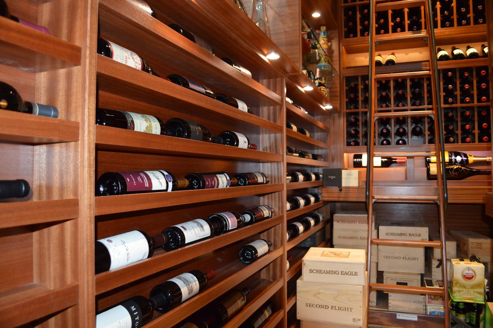 Horizontal Display and Case Storage Racks Miami Custom Wine Cellar & 6. Horizontal Display and Case Storage Racks Miami Custom Wine ...