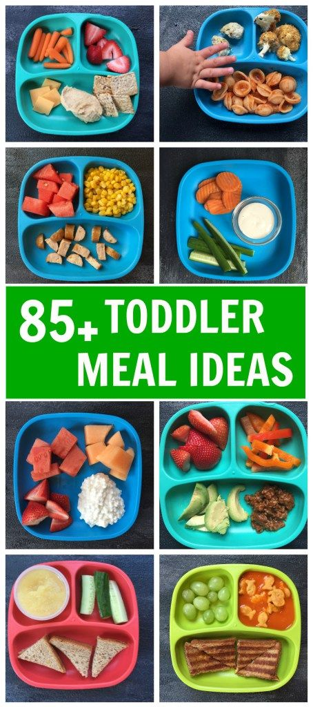 Mix n' Match Toddler Meal Ideas images