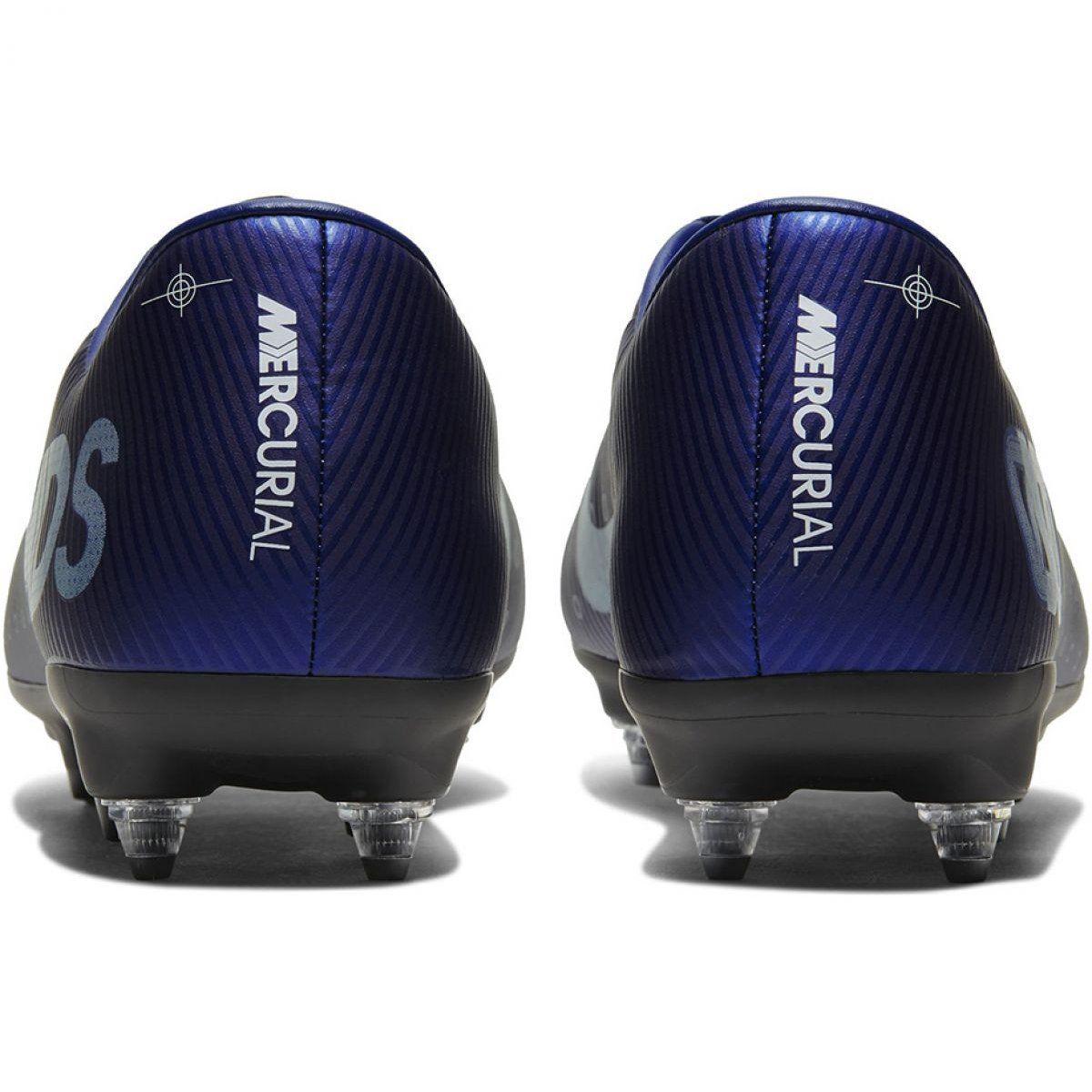 Buty Pilkarskie Nike Mercurial Vapor 13 Academy Mds Sg Pro M Cj9986 401 Niebieskie Granatowe Football Shoes Football Boots Shoe Feature