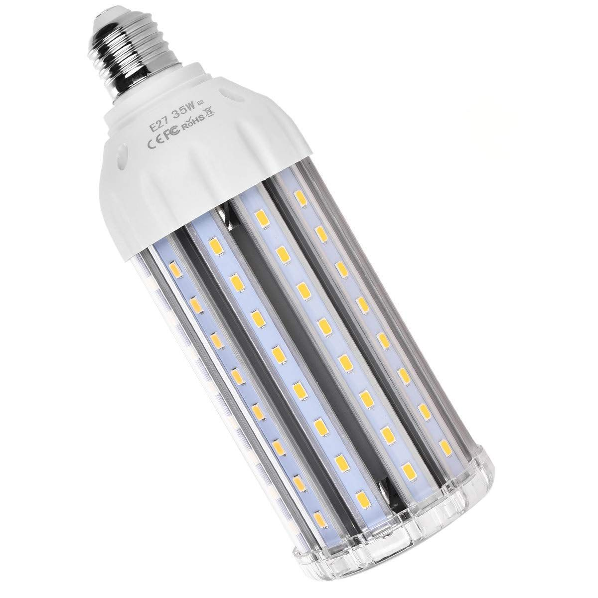 For Sale 35w E26 Led Corn Light Bulb Mhtech E26 Led Bulb Warm White 2700k 3500 Lumen 300 Watt Equivalent Large Area Light Street Lamp Led Bulb Area Lighting