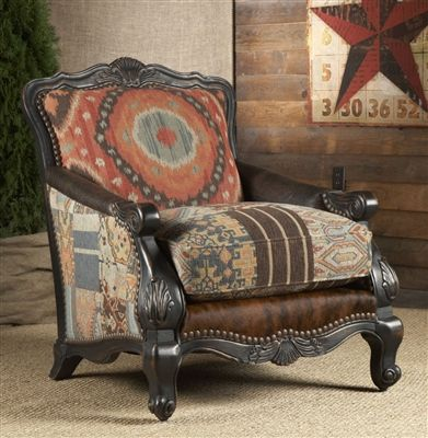 Perfect Chair, Fabric And Hair Hide. Our Price: $2,095.00