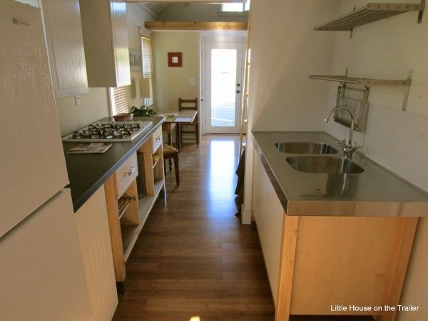 One Bedroom Home Little House On The Trailer Tiny House Kitchen Tiny House Living Tiny House Plans