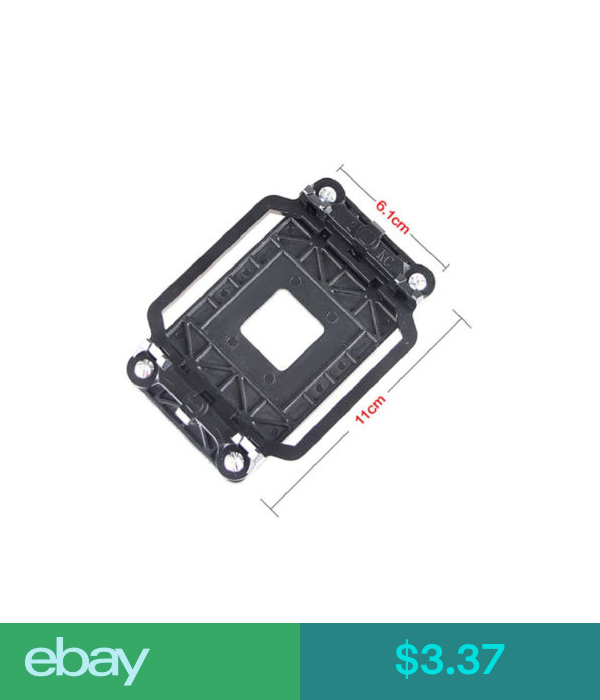 CPU cooler retentionMount bracket kit w//4 screws socket AMD AM2 AM3 motherboards