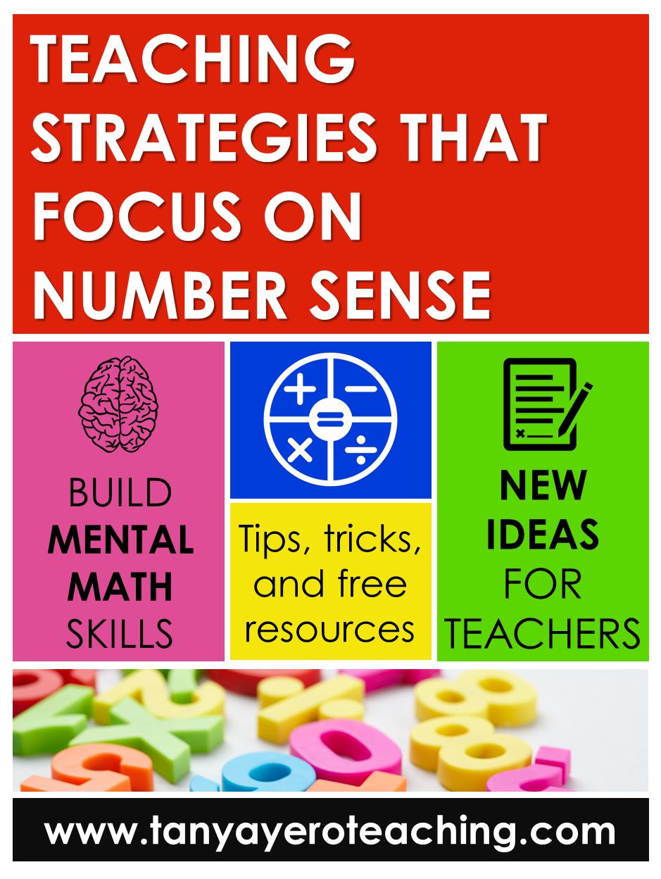 Teaching Strategies That Focus On Number Sense In 2020 Teaching Teaching Strategies Number Sense [ 1248 x 939 Pixel ]