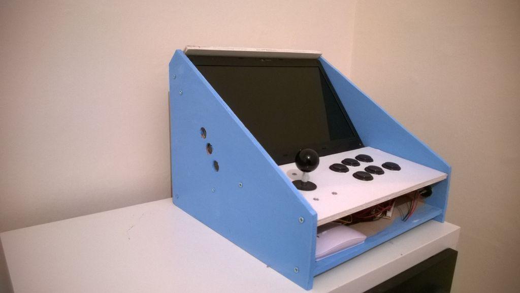 Mini bartop arcade juego de arcade arcade manualidades