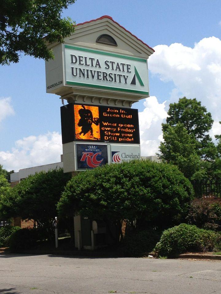 Delta State University *1003 W. Sunflower Road *Cleveland