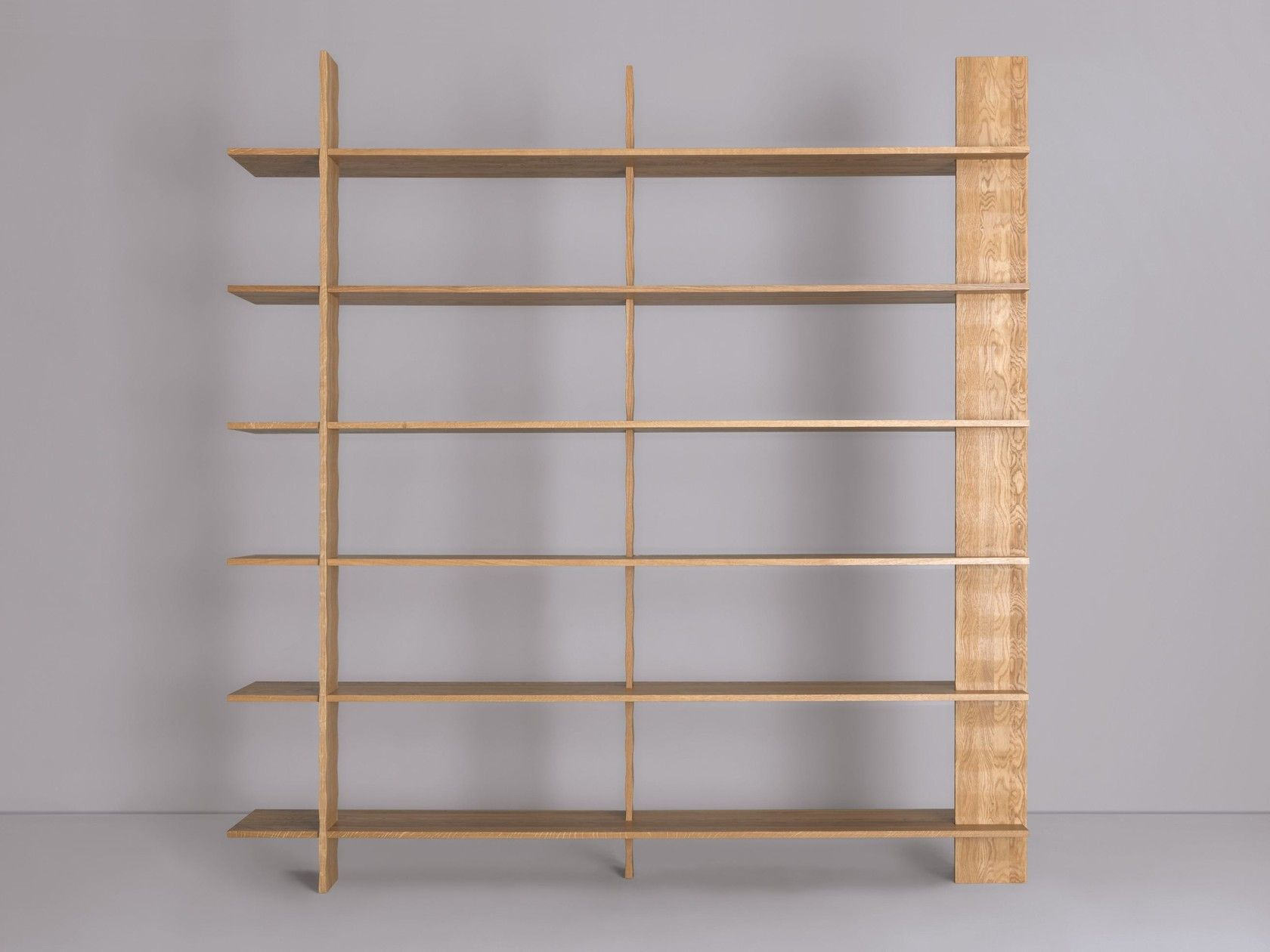 Open Freestanding Wooden Bookcase 3 Regal By Zeitraum Bookcase Design Wooden Bookcase Bookcase