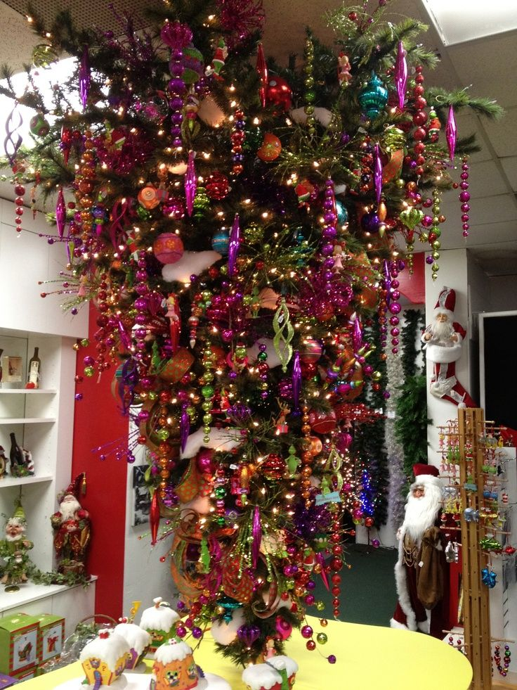 Awesome Meaning Of An Upside Down Christmas Tree Part - 9: Upside Down Christmas Tree Meaning | Upside Down GrinchMas Tree | City  Lights Christmas Emporium