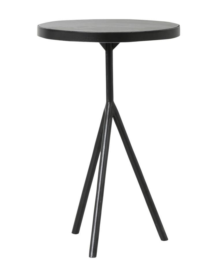 Caleb Side Table In 2020 Side Table Black Side Table Metal Side Table