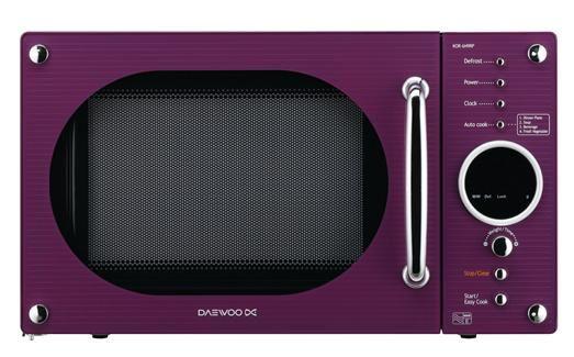 Purple Microwave Daewoo Electronics