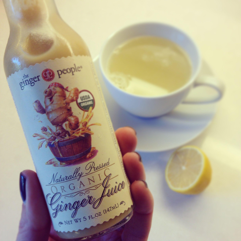 Ginger Juice...a great shortcut for Ginger Lemon Detox Tea!