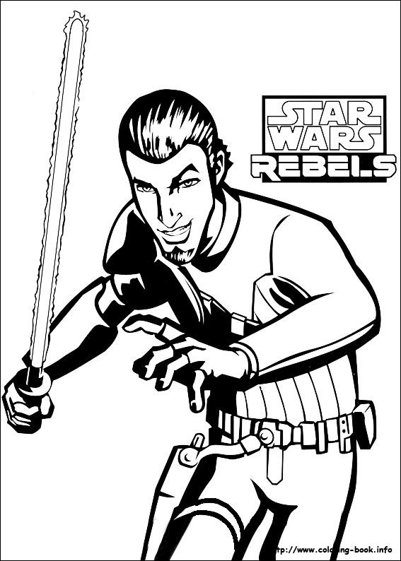 Star Wars Rebels coloring picture | Coloring for kid。 | Pinterest ...