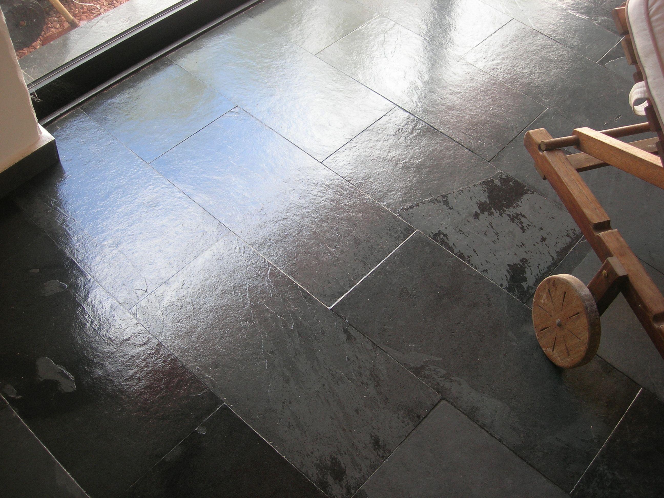 C mo limpiar y tratar suelos de pizarra suelo de pizarra - Suelo ducha pizarra ...