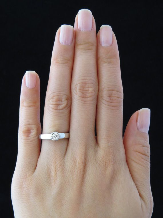 recipe: .25 carat diamond ring on finger [14]