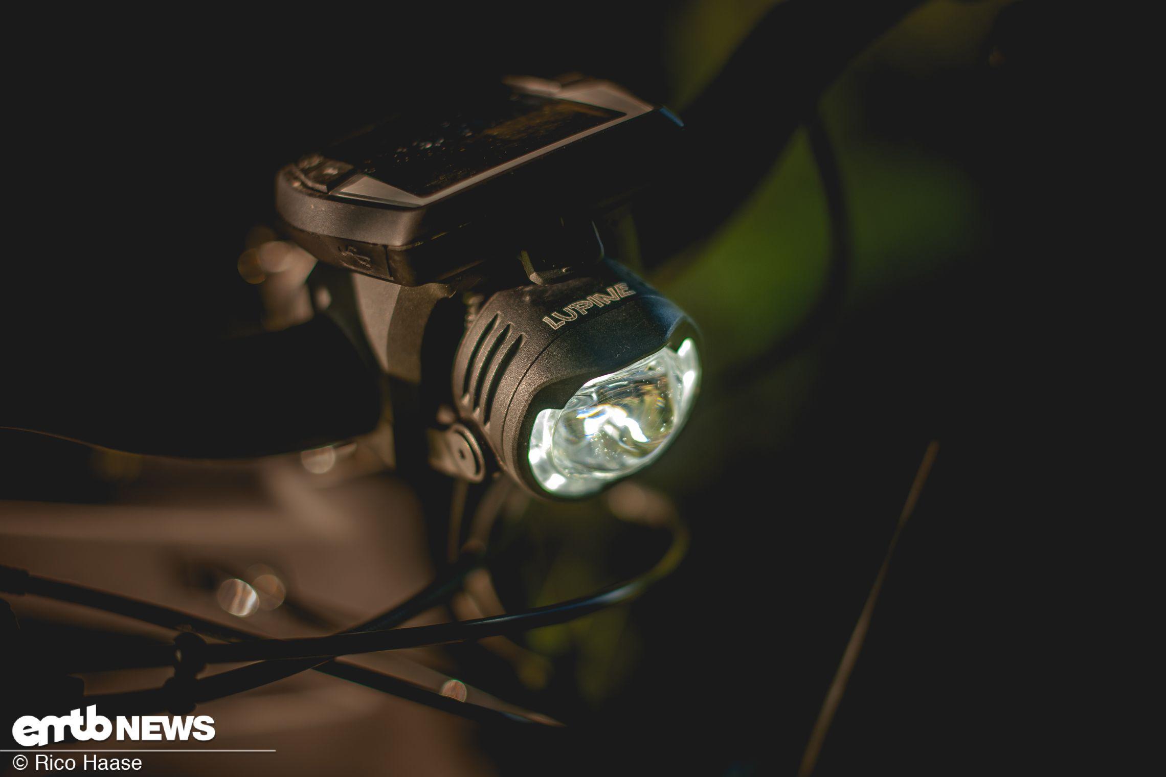 Lupine Sl B Im Test Hochwertige Lampe Direkt Fur Das E Bike E Bike Beleuchtung Lupinen