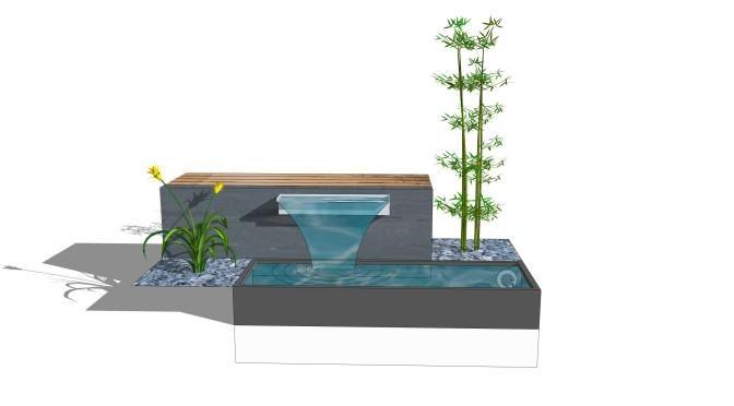 Bildergebnis Für Moderne Terrassengestaltung Mit Wasser