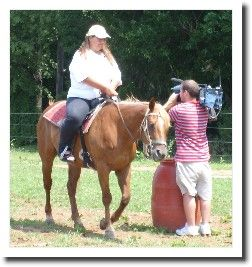 This was the first time I was under the weight limit to ride a horse! It was decades since I had ridden and it was really fun.