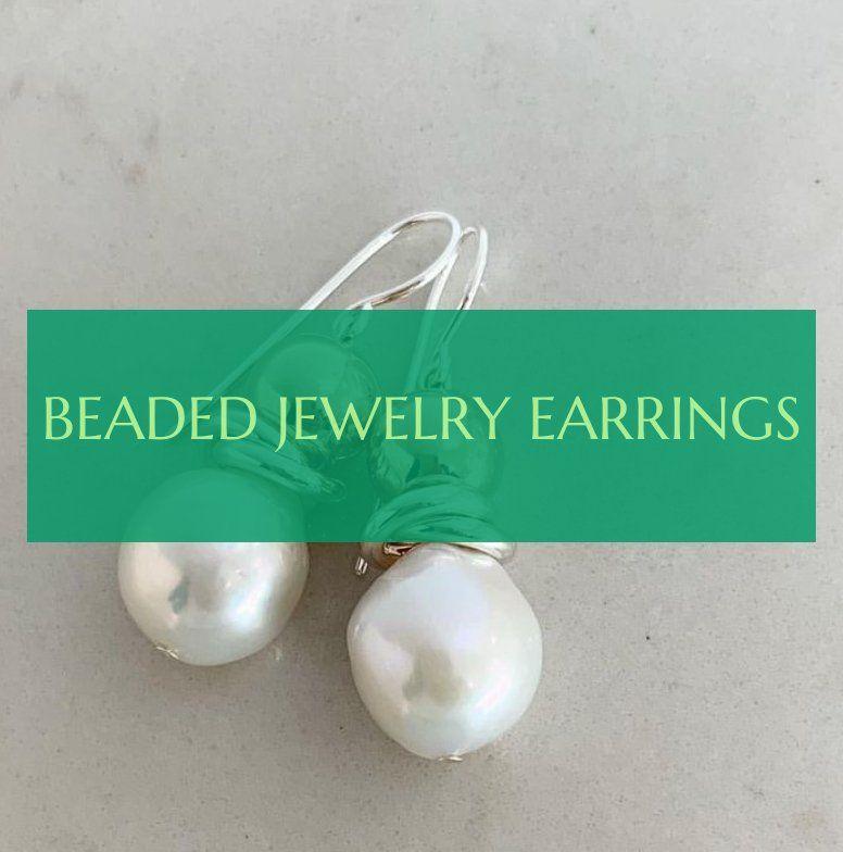 beaded jewelry earrings