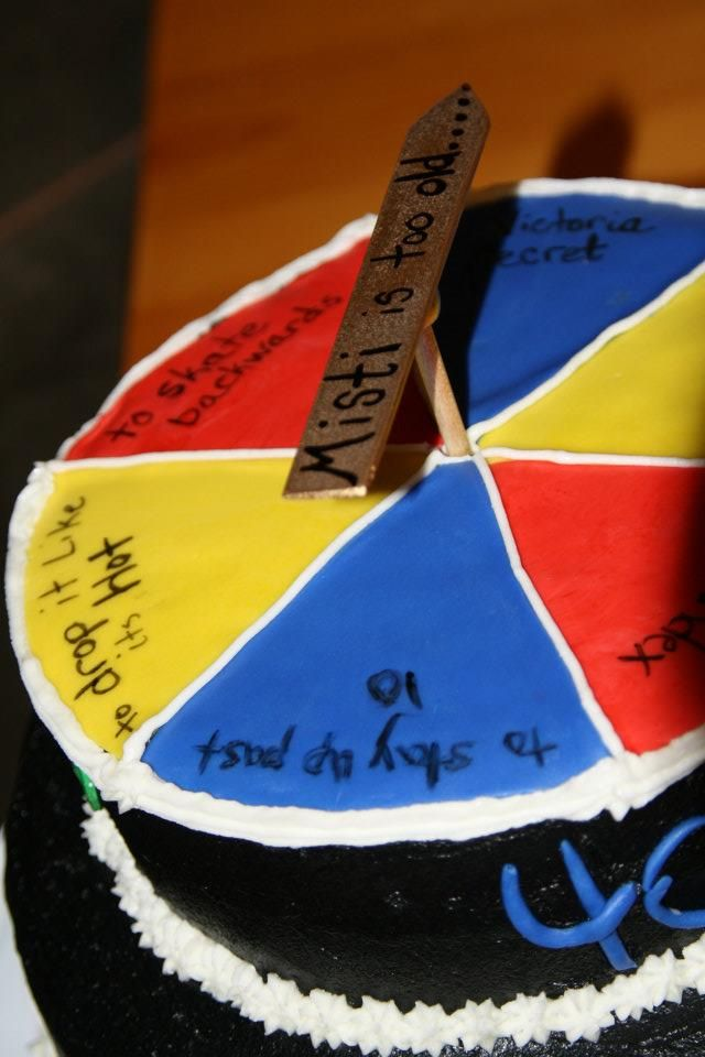 Game Board Cake 40th Birthday Sayings Could Say Anything You