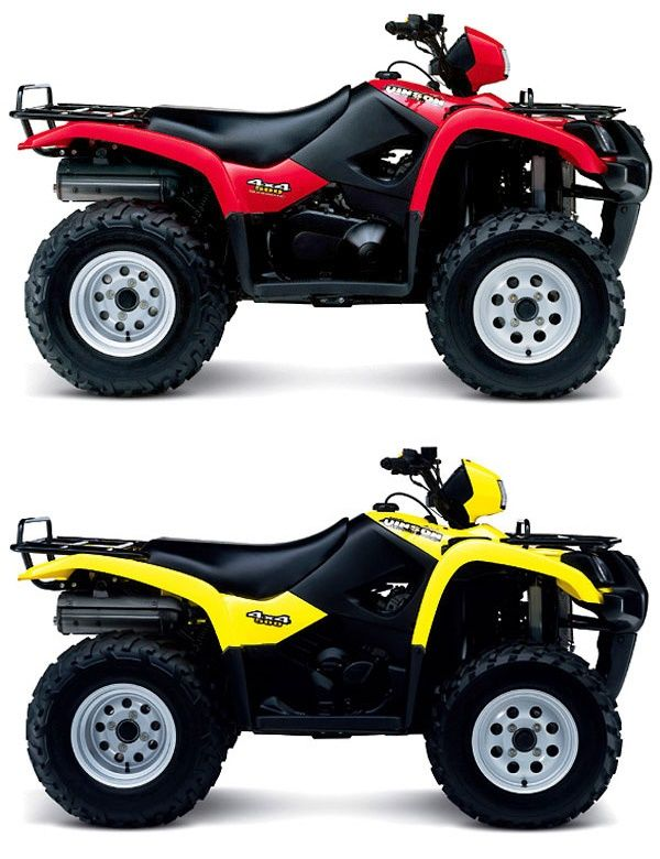 Suzuki Vinson 500 Automatic Monster Trucks Terrain Vehicle All Terrain Vehicles