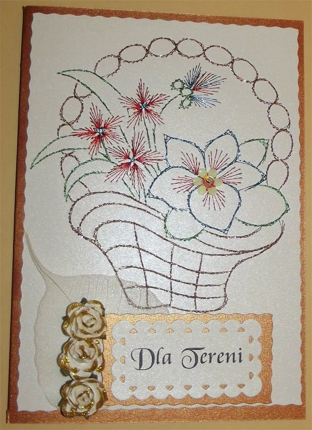 Card Making Patterns Ideas Part - 42: Haft Matematyczny - Urodziny, Imieniny, Inne · Card PatternsCard MakingString  ArtCard IdeasPaper ...