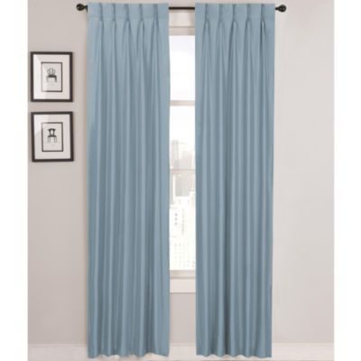 Wrong Image Slider Pinch Pleat Slider Curtains Navy And Delft Blue. For  Benu0027s Room And
