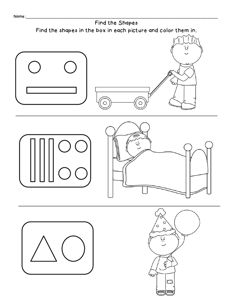 Find The Shapes Text To Self Connection Kindergarten Lessons Text To Self [ 1035 x 800 Pixel ]