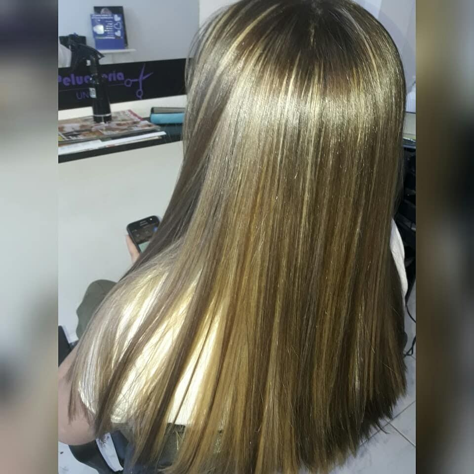 Balayage Despues Antes Peluqueriaunisex Hairstyle Hair Belleza
