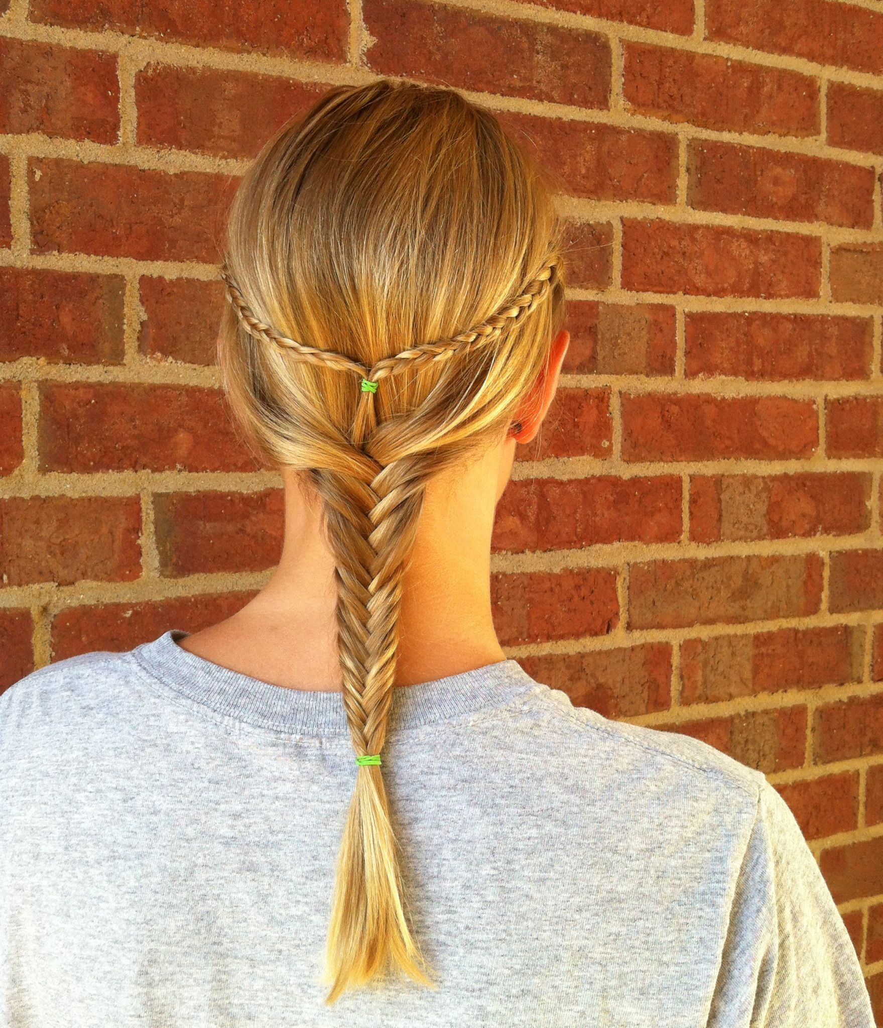 Cute summer hairstyle done by my little sister hair u beauty
