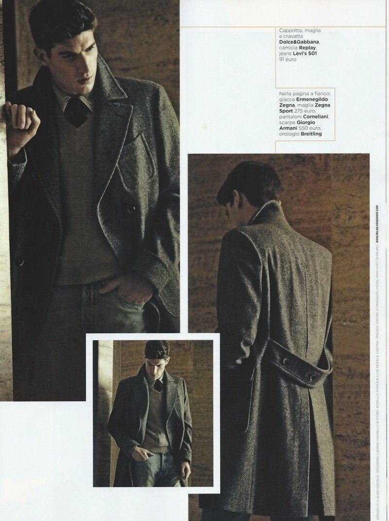 Ryan Barrett Channels Elegance for GQ Italia