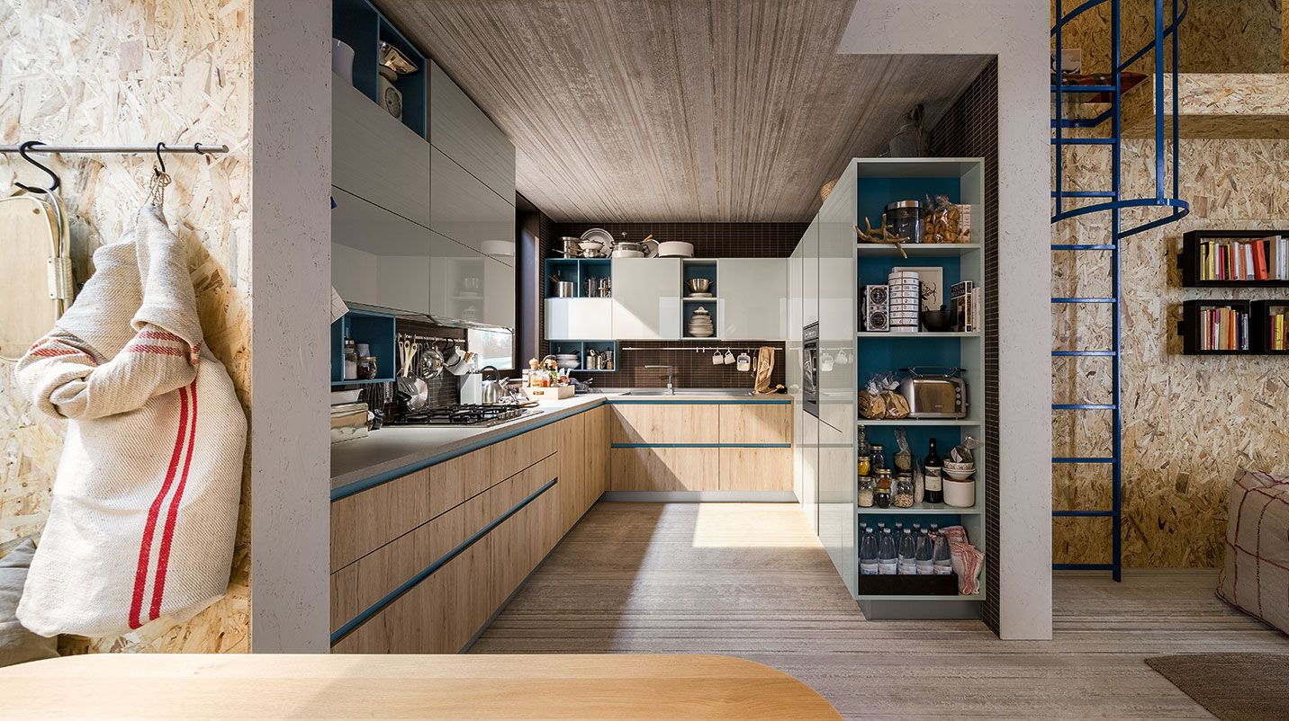 Cucina Start-Time.GO Quick Design | Veneta Cucine | Apartment ...