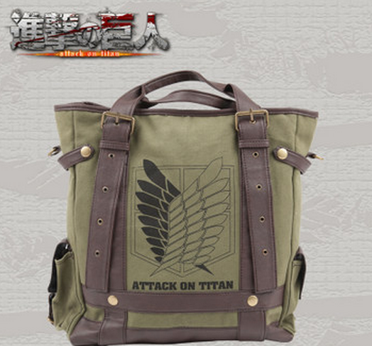 Attack On Titan cool fashion The survey corps Shoulder Bag