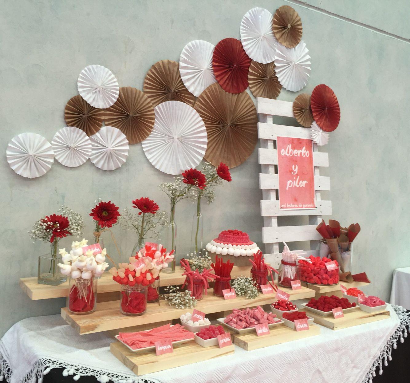 Mesas dulces en bodas | Bodas
