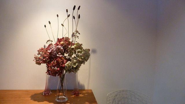Hydrangea and Rudbeckia Bouquet by Supergites, via Flickr