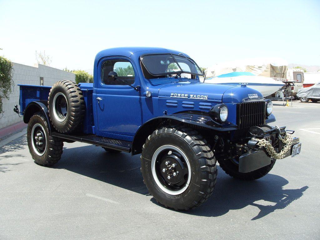 FOR SALE: 1946 Fully Restored POWER Wagon #truck #custom #kustom ...
