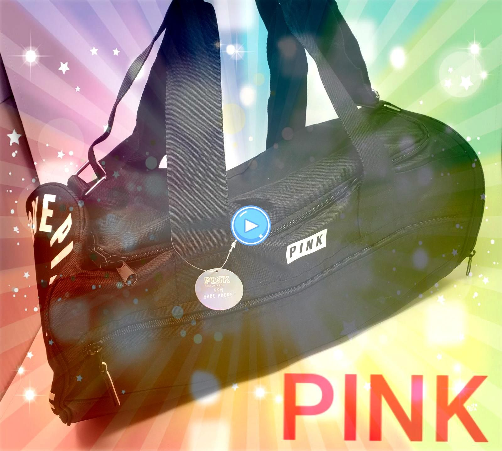 new with tags Very rare find This duffle bag has a zippered side opening for shoes and a front zippered pocket Price is firm Measures roughly 20 x 10 x 10 Please check ou...